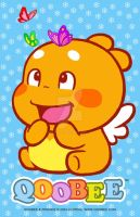 Qoobee sticker design01 by goloops