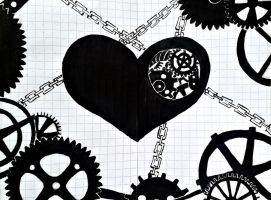 clockwork heart by waterlily5