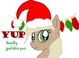Applejack was totally good this year by Sasifrass