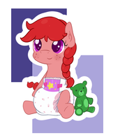 An Adorable Filly by Hourglass-Sands