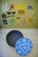 Quotes and (Arc Reactor) box by InvisibleJune