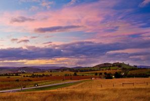 Yarra Glen Sunset by Bjay70