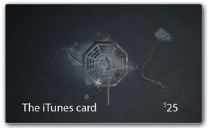 The iTunes Lost Card by lebreton