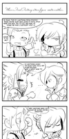4koma - FF action figures by Nekoi-Echizen