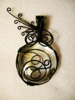 Tim Burton Inspired Wire wrap by Morning-Grey