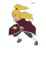 edo tensei deidara: Adventure time style by itasasu2002