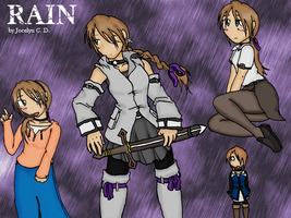 Rain: Fun with Poses by JocelynSamara