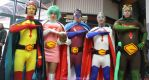 Gatchaman cosplay group by NearcolaSora