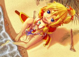 Kid - Chrono Cross by soumakyo