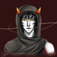 Headshot Commission -Sufferer- by UnseenChaser