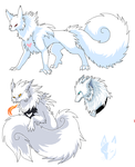 snow beast sketches by Ash-Dragon-wolf