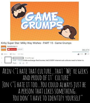 Game Grumps Turn Kirby Vacuum on Internet Cultures by UncleJeff740