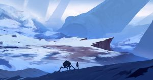 Daily sketch 32 - Winter explorations by snatti89