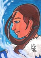SketchCard: Avatar KATARA by Axigan