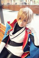 blazblue: JIN by white-stellar