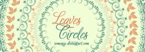 Leaves Circles by Romenig