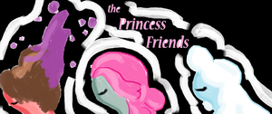 The Princess Friends by thejellybeanposse