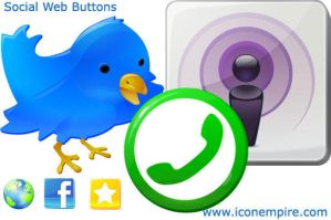 Social Web Buttons by richardkingempire