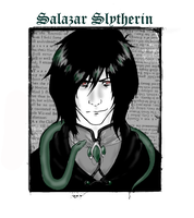 The Founder of Slytherin by christy-mac