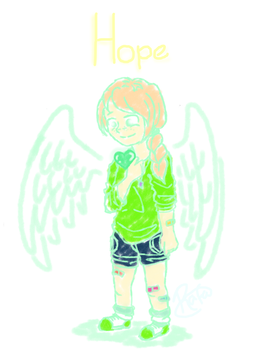 You are filled with HOPE by JennieGamer