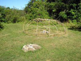 Indian Sweat Lodge Frame by SolStock
