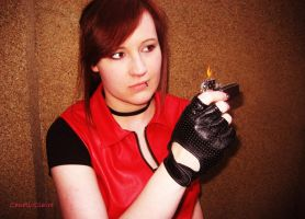 Claire Redfield - It was a gift from my brother by ChaoticClaire