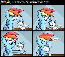 .Comic 21: Alternative Pet. by ZSparkonequus