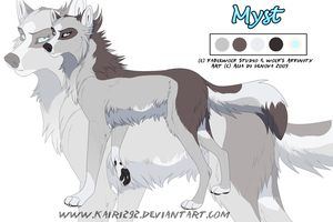 WA Character Sheet Myst by Kairi292
