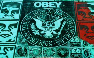 OBEY WP by 17thletter