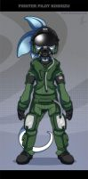 Fighter Pilot Koshizu by Koshizu