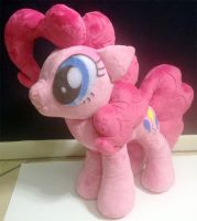 First Plushie: Pinkie Pie! .: SOLD :. by AlicornParty