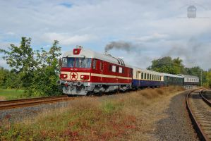 MDa 3017 with special train in Gyorszabadhegy by morpheus880223