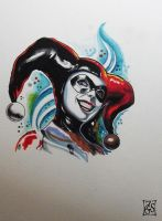 Harleyquinn by Zsil-works