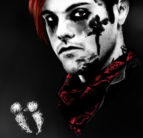...The Blood Never Dries by iShaddix