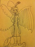 Humanized Discord by Flutterbye4ever