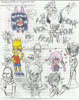 .:Sketchs In The School 2 nwn :. by tuwachiturraforever