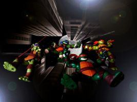TMNT 2012 - Enter Battle by 0PT1C5