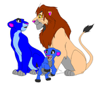 Leo Lionhearts Family Picture by Talon334