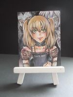 DEATH NOTE Misa Amane ACEO by Moyashiiiii