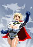Power Girl - Flight II by adamantis