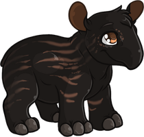 Baby Tapir by Tigryph