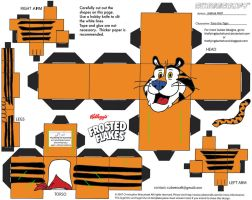 ADV CH8: Tony the Tiger Cubee by TheFlyingDachshund