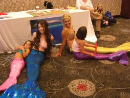 Mermaids at Tokyo in Tulsa by crummywater