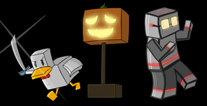 Minecraft Character 12- Chuck Jack And Robo by Ardwick