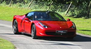 Goodwood 2011: Ferrari 458 Red by randomlurker