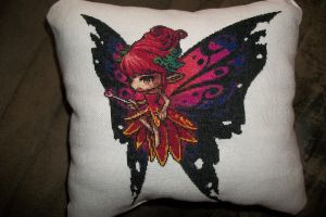 Maplestory Fairy made for swap-Finished as pillow by gamerwolff