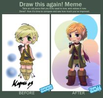 Draw This Again Meme - Aoife by Mapvee