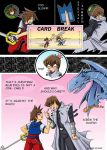 kingdom hearts vs yugioh by lizardberry