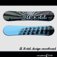 .A Hotel. snowboard by conceptions