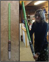 Crocheted Lightsaber - Luke Skywalker ROTJ by RebelATS